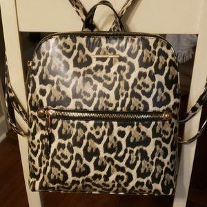 Aldo cheeta print backpack NEW condition